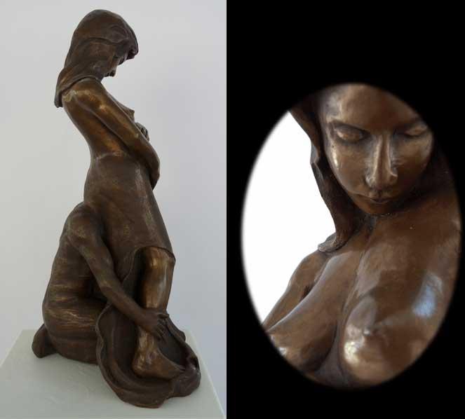 Galerie Expositoion Sculpures 171 La Vierge Et L Enfant